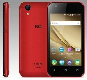Смартфон BQ BQS-4072 Strike Mini red