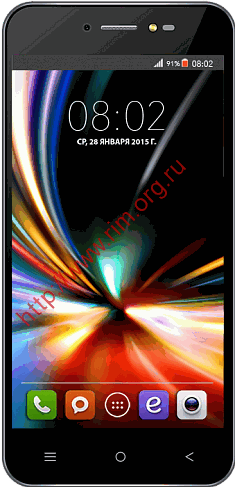 Смартфон BQS-5055 Turbo Plus Черный