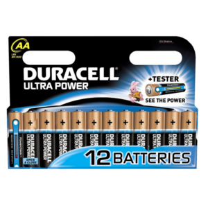 Батарейка DURACELL Ultra Power AA LR6 1×12 шт