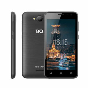 Смартфон BQ BQS-4501G Fox Easy (black)