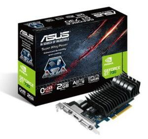 Видеокарта PCIE 16x 2.0 Asus 2048 Mb GeForce GT730 (GT730-SL-2GD3-BRK)