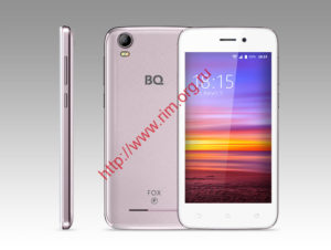 Смартфон BQ BQS-4583 Fox Power pink gold