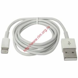 Кабель Apple DEFENDER ACH01-03H USB(AM)-Lighting 1m, пакет