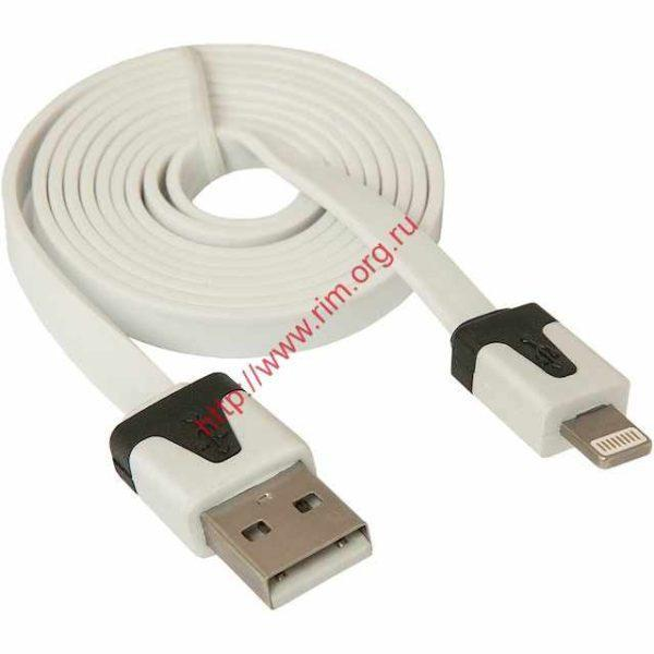 Кабель Apple DEFENDER ACH01-03P USB(AM)-Lighting(M) (87472)