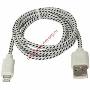 Кабель Apple Кабель DEFENDER ACH01-03T USB(AM)-Lighting(M) (87471)