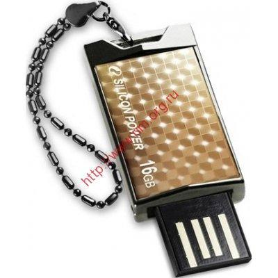 флеш-драйв SILICON POWER Touch 851 16GB Gold